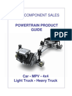 Powertrain Product Guide 2007