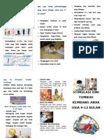 Leaflet Stimulasi Tumbuh Kembang 9-12 Bln