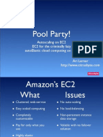 pool party presentation