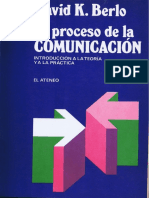 Berlo, proceso de la comunicación