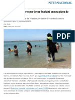 Noticia- Mujeres Burkini