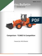 Comparison - TL360Z vs Competition - Sales Bulletin