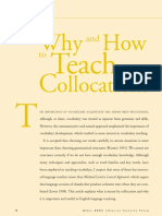 Why and How to Teach Collocations