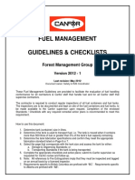 Fmg Fuel Management Guidelines