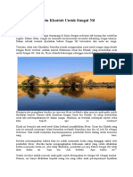 Isi Surat Umar Bin Khattab Untuk Sungai Nil