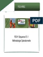 RCH1 E1.1 - Méthodologie Opérationnelle FOS NRBC42