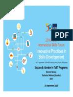 TANAKA_Session 8_Gender in TVET Programs_19Sept