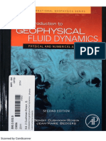 Introduction Geophysical Fluid Dynamics