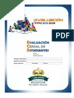 Evaluacion de 2do Ece-rp2016