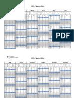 GPS Kalender 2016