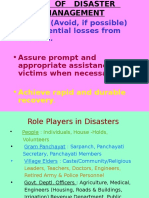 Disaster Overview