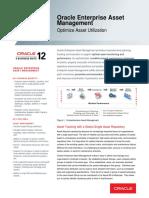Oracle Enterprise Asset Management