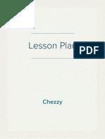 My Lesson Plan (Teach English Now! - Part 4) - Soleha Nur Azizah (Princess Chezzy)