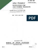1741 - Latex Foam Products