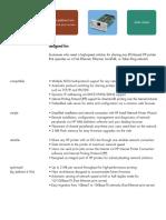 HP Jetdirect 600-610 Data Sheet