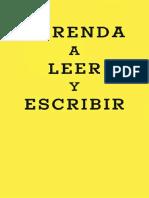 1958 - Aprenda a Leer y Escribir