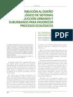 Agricultura Urbana y Suburbana