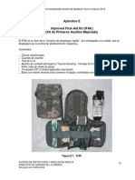 Kit Primeros AuxiliosTCCC2014