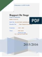 RAPPORT de STAGE 1 Enregistré Automatiquement