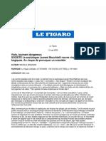 M. Marzano, Viols, tournant dangereux (2005)