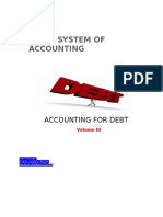 Accounting for Debt