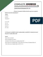 Assignment Multinational Financial Management