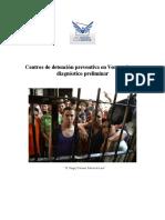 Estudio Sobre Centro de Detención Preventiva