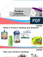 Labeling | Artwork Management | Packaging