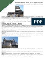 Roma Si Vatican - Razvan Pascu Blog