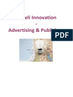 Israeli Innovation Advertising and Publishers