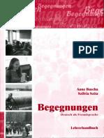Begegnungen B1 Lehrerhandbuch