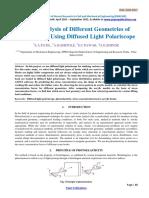 Stress Analysis of Different Geometries of Crane Hook Using Diffused Light Polari Scope-278