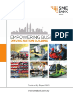 SME Bank 2015 Sustainability Report