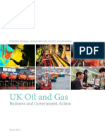Uk Oil and Gas Industrial Strategy