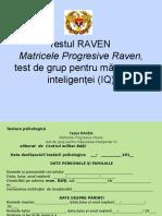 Testul Raven