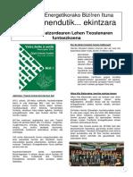 Synthese Du Rapport Hitza Hitz - V2-Eus