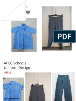 APEC Schools Uniform Design