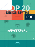 Top20 Design Myths