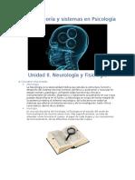 Unidad II. Teoria y Sistemas en Psicologia