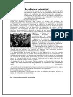 Revolución Industrial/francesa