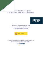 Guia Discapacidad Cermi PDF