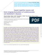 The Balance Between Cognitive Reserve And