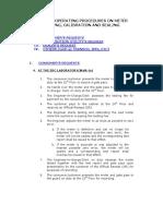 Meter Testing Procedures