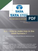 Iron Making Process