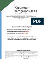 Columnar Chromatography (CC) Presentacion