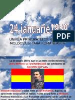 Unirea Principatelor Române Moldova Si Tara Romaneasca