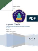 Ringkasan Agama Hindu (Bhagawad Gita Lengkap)