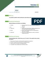 Brain Control Worksheet