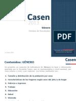 Casen2013 Genero adulto mayor