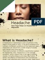 Headache Presentation